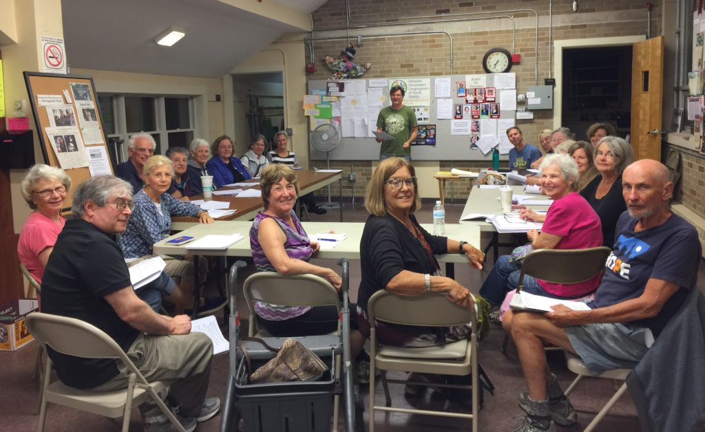Indivisible RI Rhode Island, Local Hive Meeting
