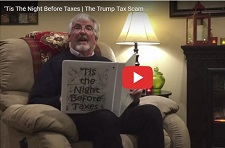 Indivisible RI Rhode Island, Tis The Night Before Taxes Video, Trump Tax Scam, Chair